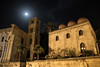 Palermo 12 (gsamie) Tags: 600d aeolianislands canon guillaumesamie italy palermo rebelt3i sicilia sicily architecture cathedral church gsamie moon night piazza sky italie it