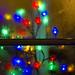 Christmas colour and condensation: Pettigrew Tea Rooms, Cardiff