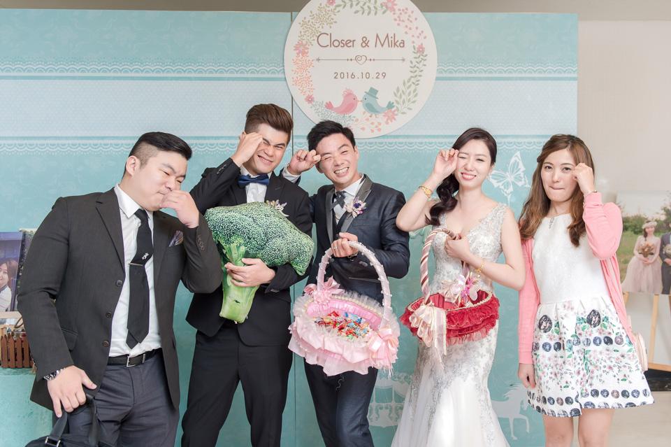 台南婚攝 婚禮紀錄 情定婚宴城堡 C & M 173