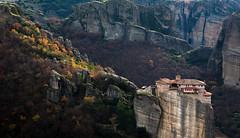 Monstery on Rock (wu di 3) Tags: greece meteora monastery rock