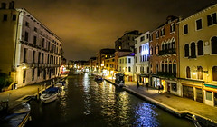 Venice Night shot (Andy.Gocher) Tags: andygocher canon100d canon1018mm europe italy venice buildings architecture water lights reflection reflections
