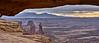 "Mesa Arch ""Sunrise"" (W_von_S) Tags: mesaarch utah us usa canyonlandsnationalpark sunrise sonnenaufgang naturalbridge landscape wvons landschaft outdoor 2016 werner panorama"