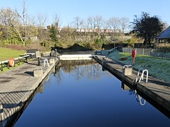 Forth & Clyde Canal (Wider World) Tags: forthandclydecanal forth clyde canal clydebank dalmuir scotland winter frost reflection ice water