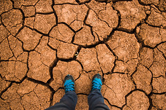 Pachamama (matiasmaiztegui) Tags: earth tierra alone lonely salta desert desierto quiebre foot look photo argentina stand good vacio canon pic picture pachamama pacha mama inca latino southamerica