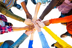 Group of Diverse Multiethnic People Teamwork (jayblackmore) Tags: aerialview agreement assistance casual cheering colorful community concepts connection cooperation diverse diversity ethnic ethnicity friendship group groupofhands groupofpeople hands handstogether humanhand ideas international isolatedonwhite joined meeting multiethnicgroup multiethnichands multicolored multiracial one organization partnership people power selectivefocus strength success successful support supportgroup team teamwork together togetherness topview united unity variation whitebackground