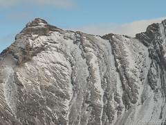 Distant peak (David R. Crowe) Tags: landscape mountain mountainscrambling nature outdooractivities scrambling turnervalley alberta canada