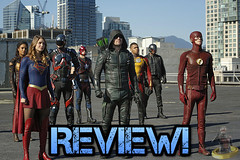 Invasion! - Heroes V. Aliens Review! (AntMan3001) Tags: invasion heroes v aliens supergirl flash arrow legends tomorrow