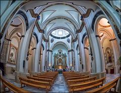 (2420) Ermita de San Cosme y San Damián (Fisheye world) (QuimG) Tags: abarán murcia spain church fisheye ermitadesancosmeysandamián interiors panasonic quimg quimgranell joaquimgranell art afcastelló specialtouch obresdart