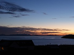 Light in the Window (Traigh Mhor) Tags: 2016 december bigsand gairloch highland rossshire scotland gloaming blue sky