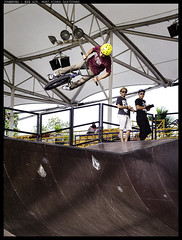 Big Air (JonDoyou) Tags: pen olympus skate malaysia skateboard mont kiara f28 135mm ep3 m43