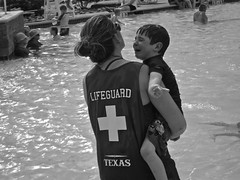 Lifeguard {24/52} (therealjoeo) Tags: summer water pool june texas 10 crying slide lifeguard week week24 2013 week24theme 52weeksthe2013edition 522013