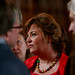 Fiona Hyslop attending the Edinburgh Castle Reception