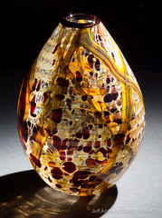 Abstract Earth Tone Egg Vase (Jeff Addicott) Tags: art glass rustic egg earthy fresnel backlit product leitzmacroelmarit12860