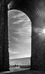 Ribblehead Viaduct, UK (RenaldasUK) Tags: uk bridge england bw white black stone train circle yorkshire viaduct dales castlerigg ribblehead balta anglija juodai