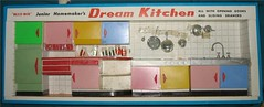 BlueBox Junior Homemakers Dream Kitchen (Rebecca's Collections) Tags: kitchen vintage hongkong 60s dream plastic junior 1960s bluebox homemaker boxedset dollshousefurniture vintagedollshousefurniture