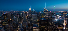 New York City from the 69th Floor (Graham Gibson) Tags: new york city nyc sunset rock night view angle top wide olympus panasonic gf1 918mm