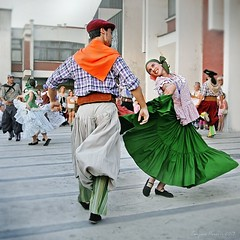International Folklore Festival, Pirot, Serbia - Los Mackay Y Ballet Malambo Argentino, Buenos Aires, Argentina (Tanjica Perovic) Tags: portrait motion smile photography dance clothing jump folkart emotion action traditional serbia nation culture august folklore identity national procession colourful custom ethnic beautifulpeople cultural garments headdress manandwoman srbija ensamble nationaldress boyandgirl pirot greenskirt coupledancing 2013 srpski fotografija српски canoneos400d sigma1770mmf2845dcmacro фотографија colourrich тањицаперовић tanjicaperovicphotography medjunarodnifestivalfolklorapirotsrbija internationalfolklorefestivalpirotserbia folkloredanceensamble међународнифолклорнифестивалпирот medjunarodnifestivalfolklora losmackayyballetmalamboargentinobuenosairesargentina argentiniantraditionaldress piedritasbuenosairesargentina