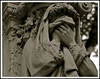 the agony of loss (detail) ... père lachaise (ana_lee_smith) Tags: travel sculpture paris france detail macro tourism cemetery grave stone lens photography tomb photojournalism sigma ground mausoleum beercan ossuary burial columbarium f4 lachaise père cimetière boulevarddeménilmontant analeesmith minoltaaf70210mm sonyslta33
