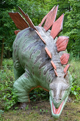 Knebworth House (scuba_dooba) Tags: park family sculpture house art english film statue gardens set pen garden movie is dinosaur artistic united country gothic kingdom location full size trail henry than sword late wilderness manor creatures prehistoric 72 grounds dinosaurs hertfordshire lytton knebworth stately realistic the the lifelike mightier lifesized sword lyttoncobbold