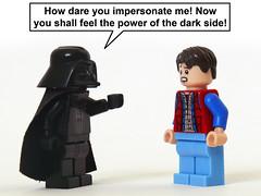Vader Faker (Oky - Space Ranger) Tags: star back lego bttf darth future vulcan wars vader marty mcfly