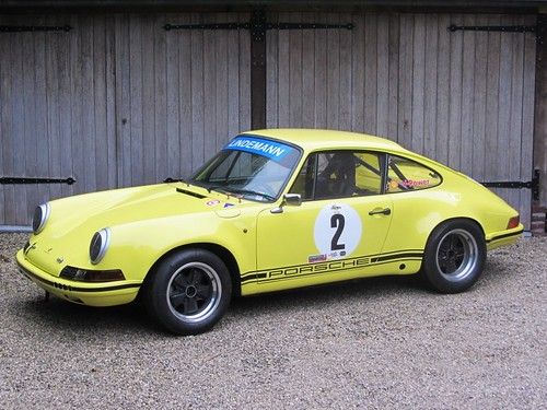 Porsche 911 S (1971) FIA Historic Racing Car.