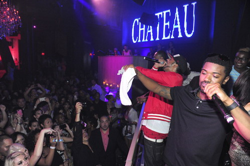 Ray J Labor day Party in Vegas