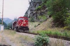 EMD SD9043MAC #9141 (In Memoriam busdude) Tags: cn gate pacific railway canadian national cp hells canadianpacificrailway emd sd9043mac