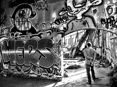 mers (eb78) Tags: sf sanfrancisco california ca blackandwhite bw monochrome urbanexploration grayscale ue greyscale iphone roundhouse urbex iphoneography