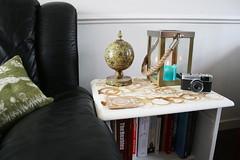 Coffee ring table (.freebird.) Tags: camera coffee table globe candle furniture sofa rings cushion