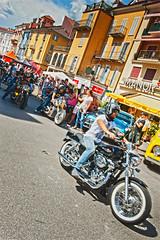 Harley Davidson Parade in Locarno. August 25, 2013.No.8600. (Izakigur) Tags: festival liberty schweiz switzerland tessin ticino nikon europa europe flickr suisse suiza swiss feel parade harley harleydavidson motorcycle biker locarno helvetia nikkor svizzera lepetitprince ch dieschweiz musictomyeyes sussa suizo motocycling myswitzerland lasuisse   d700 nikond700 izakigur suisia laventuresuisse izakigurticino izakigurfestival izakigurd700 izakigurlocarno izakigur2013 rombodays