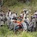 Ethiopie - enterrrement près de l'Eglise de Yemrehanna Kristos 2012