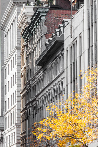 Façades vieux Montreal