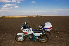 Honda Dominator 650 NX (branimir.juga) Tags: bike honda moto 650 enduro ccm banat nx dominator susara