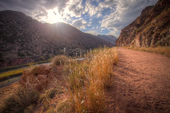 canon-hdr-1 (Wildsight Photography) Tags: city sky sun mountains grass clouds canon colorado path hdr tunneldrive