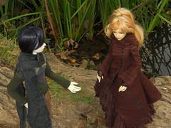 Un'oretta in Caffarella (Leliwen) Tags: parco outfit handmade bjd fer alexys caffarella limhwa aprilstory elehim