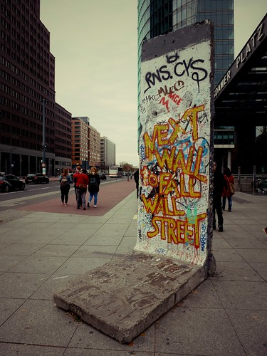 Mur de Berlin, Potsdamer Platz, Berlin, Allemagne