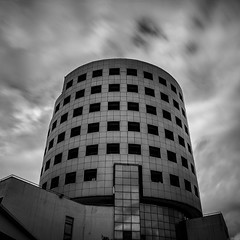 / Aristotle University of Thessaloniki - kk227 (KouKon) Tags: longexposure sky blackandwhite bw black clouds campus blackwhite university pentax hellas greece macedonia aristotle auth weldingglass  nd10    bigstopper aristotleuniversityofthessaloniki pentaxkr
