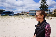(Amanda Laurn) Tags: houses beach girl brighton sony south sigma australia adelaide brunette sigma30mm nex6 uploaded:by=flickrmobile sonynex6 flickriosapp:filter=nofilter