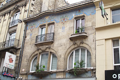 Mozaik Giudici Reims 1823 (Olga and Peter) Tags: france building mosaic frankrijk reims gebouw 1823 giudici mozak gimg9689