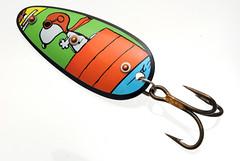 DSC_0398 (teddmcdonah) Tags: handmade spoon recreation spoons repurposed trm fishinglure 2013 studiocraft tincanart teddmcdonah fineartofthetincan originalrecyclures