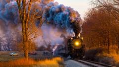 Pere Marquette 1225 (Mi Bob) Tags: unitedstates michigan peremarquette trains polarexpress elsie steamengine engine1225
