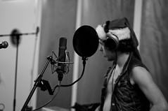 Rectum Raiders (Schreibaer) Tags: music rock studio blackwhite nikon punk album glam hku hilversum recording raiders rectum d90 glamcore rectumraiders