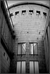 Art and Exhibition Hall (catb -) Tags: street bw building architecture germany frankfurt fa