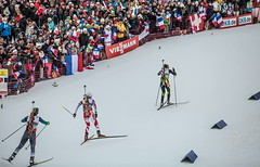 Women pursuit - WC Biathlon Annecy-Le Grand-Bornand 2013