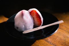 Ichigo Daifuku - Japanese Dessert (Ame Otoko) Tags: summer food japan dessert cuisine japanese strawberry sweet traditional mochi