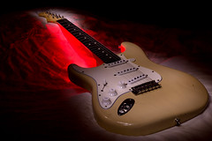 american stratocaster (robwiddowson) Tags: lightpainting photo long exposure image guitar picture photograph american strat stratocaster lefthanded