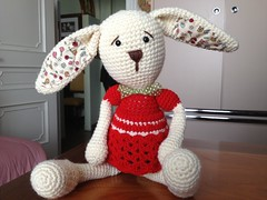 (anna.gallitelli.7) Tags: rabbit bunny sweet crochet christmass hook natale bambola bellissimo dolcissimo uncinetto bambolotto amiguumi uploaded:by=flickrmobile flickriosapp:filter=nofilter