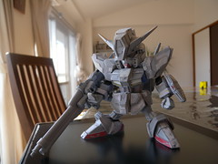 RX-99 NEO GUNDAM(scrap and build#8) (5thLuna) Tags: gundam plamodel gunpla sdgundam   bb neogundam sdbb