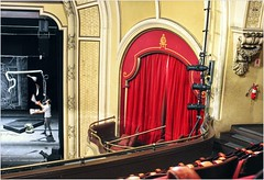 Athenaeum Theater (BalineseCat) Tags: chicago theater circus balcony stage main juggling auditorium athenaeum perfomer