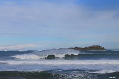 Mundaka (Ander B) Tags: surf wave bizkaia euskalherria ola mundaka izaro